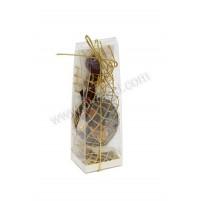 Poročni konfet - čokoladna broška v škatli