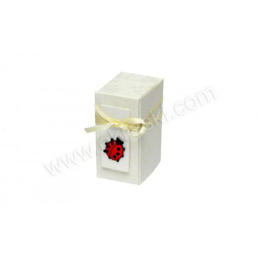 Poročni konfet v škatlica - pikapolonica