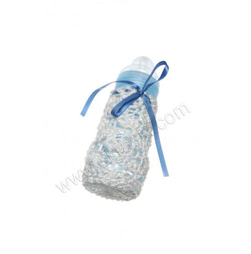 Modra steklenička