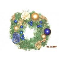Božični venček za na vrata 4