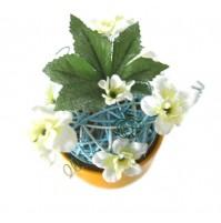 Cvetlični aranžma v lončku 2