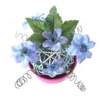 Cvetlični aranžma v lončku 1