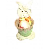 Zajček s  pisanko