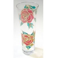 Poslikana vaza - vrtnica