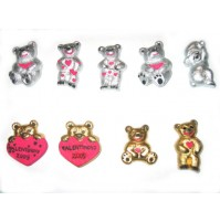 Valentinov komplet medvedkov