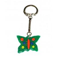 Obesek za ključe - metulj 2
