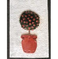 Slika s cvetjem 3