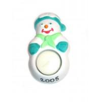 Snežak - svečnik
