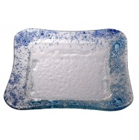 Steklene skodelice - turkizno/modre (komplet)