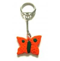 Obesek za ključe - metulj 5