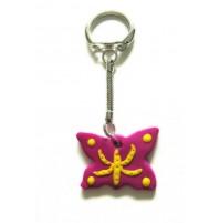 Obesek za ključe - metulj 3