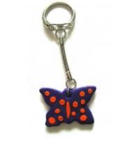 Obesek za ključe - metulj 9