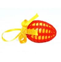 Velikonočno jajce - kvačkano 02