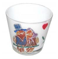 Valentinov svečnik - bel
