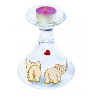 Valentinov svečnik - čaša