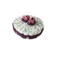 Darilo ob rojstvu - torta iz pleničk/za punčke