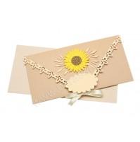 Vabilo - denarnica/sončnica