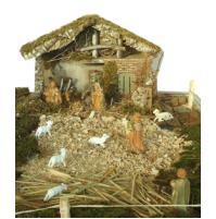 Božične jaslice - velike