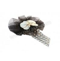 Poročni-naprsni-šopek-bela-orhideja