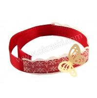 Poročna-zapestnica-bordo-rdečo-čipka-metuljček