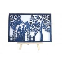 Poročno-vabilo-karton-par-modro