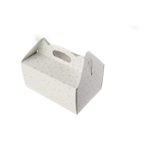 Škatla za pecivo - viola rožice (manjša)