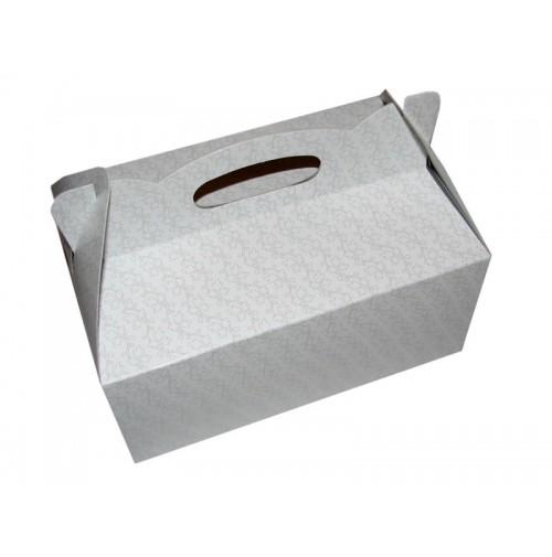 Škatla za pecivo - zlati listki
