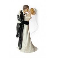 Poročna figura -  ženin in nevesta/srednja