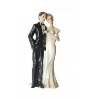Poročna figura -  ženin in nevesta/velika