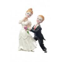 Poročna figura - smešen par 04