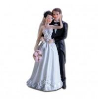 Poročna figura - ženin in nevesta - zasanjana