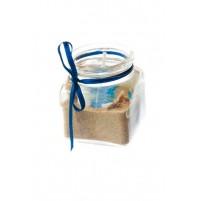 Konfet za abraham - morski/svečka