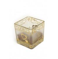 Konfet za abraham - sveča/kvadrat-velika