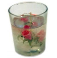Žele svečka/roza vrtnice